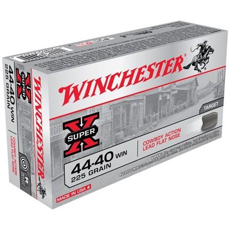 50 CARTOUCHES WINCHESTER 44-40 WIN 225GR CALFN