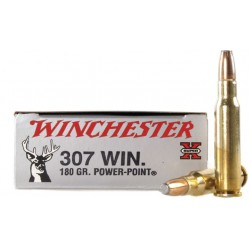 20 CARTOUCHES WINCHESTER 307 WIN 180GR PP
