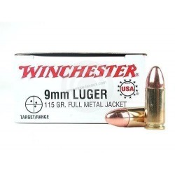 500 CARTOUCHES WINCHESTER 9MM 124GR