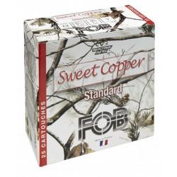25 CARTOUCHES FOB SWEET COPPER STANDARD CALIBRE 12/70