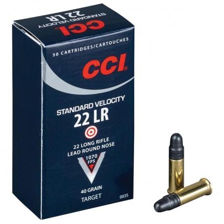 500 CARTOUCHES CCI 22LR STANDARD