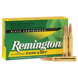 20 CARTOUCHES REMINGTON 7X64 175GR CLPSP