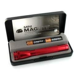 LAMPE MINI MAGLITE ROUGE