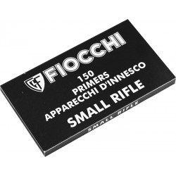 150 AMORCES FIOCCHI SMALL RIFLE STANDARD