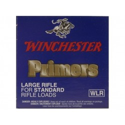 100 AMORCES WINCHESTER LARGE RIFLE STANDARD