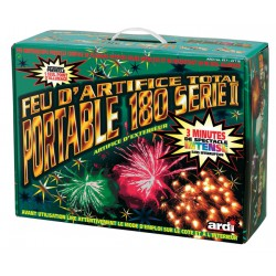 FEU D'ARTIFICE PORTABLE 180 SERIE II
