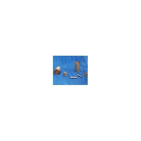 12 DOUILLES H&C CALIBRE 9MM A BROCHE + ACCESSOIRES
