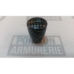 BOULE LONGUE DE LEVIER D'ARMEMENT BAKELITE CARBON